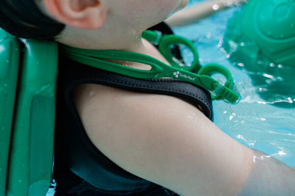 Turtle Pack Goggles - Close Up View
